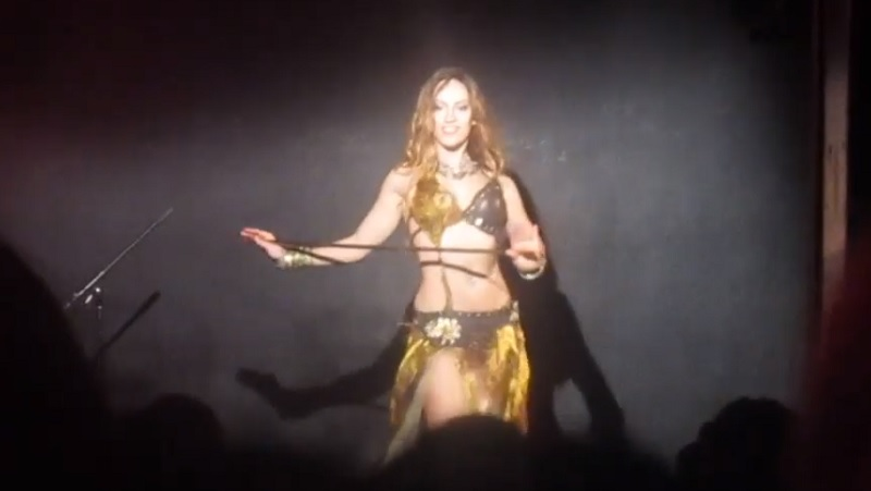 Sara Guirado Belly Dancing at Radio City (Valencia, Spain, 2016)