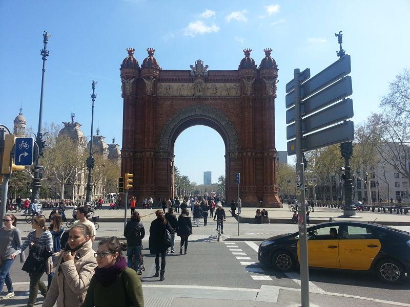 Arc de Triomf, Barcelona (2016)