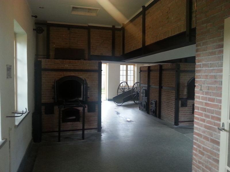 Concentration Camp Crematorium Furnace