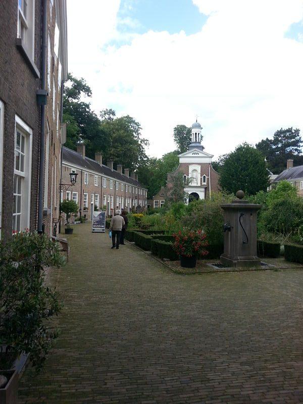 Courtyard and Garden Outside Breda's Begijnhof Museum