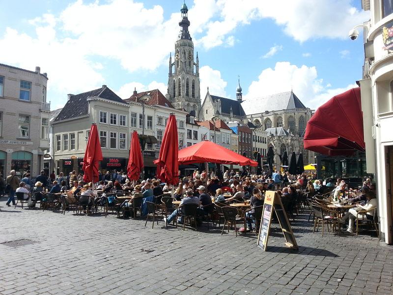 The Grote Markt, Breda, The Netherlands