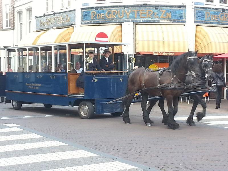Horse-Drawn Tram in Breda (the Netherlands)