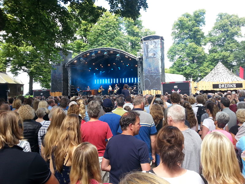 The Common Linnets at The Valkhof Festival in Nijmegen (2016)
