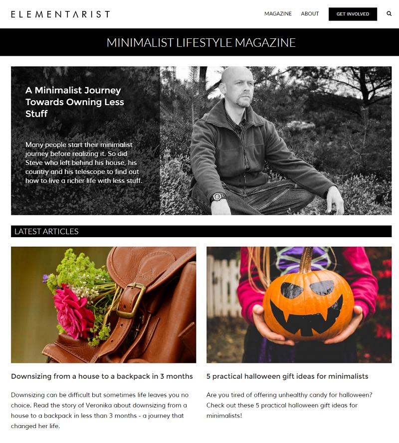Blog Post About Minimalism