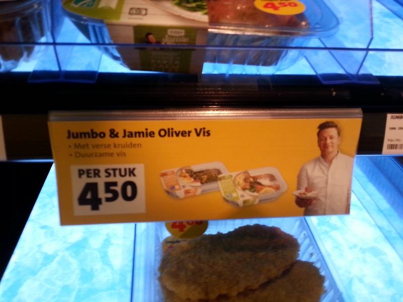 Jamie Oliver Range at Jumbo Supermarket