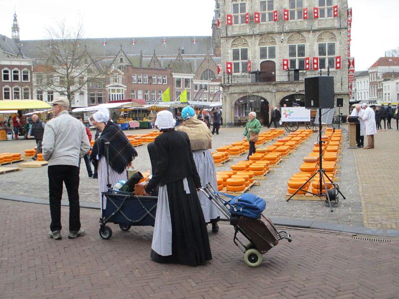 Eerste Gouda Kaasmarkt 2017
