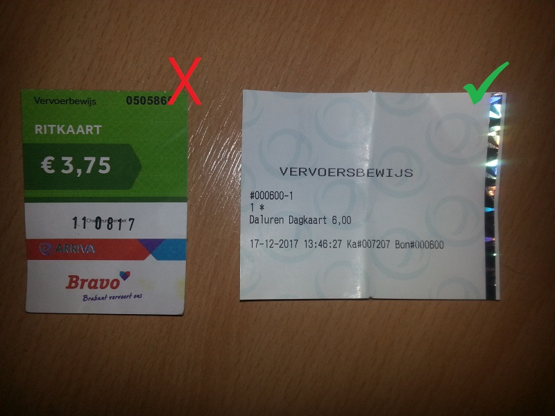 Arriva Buses No Longer Accepting Money in the Netherlands
