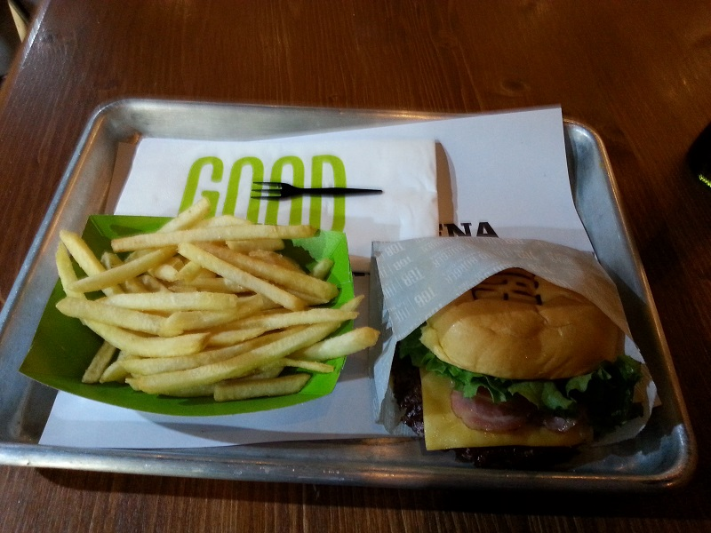 The Good Burger (TGB) is a hamburger you can only buy in spain