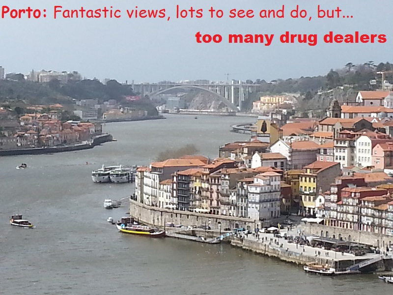 I Enjoy the High Spots of Porto Without Getting High