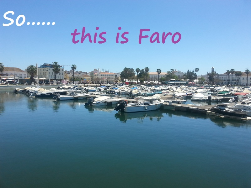 The Marina at Faro, Portugal