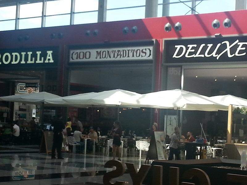100 Montaditos (Nevada Shopping Centre, Granada, Spain)