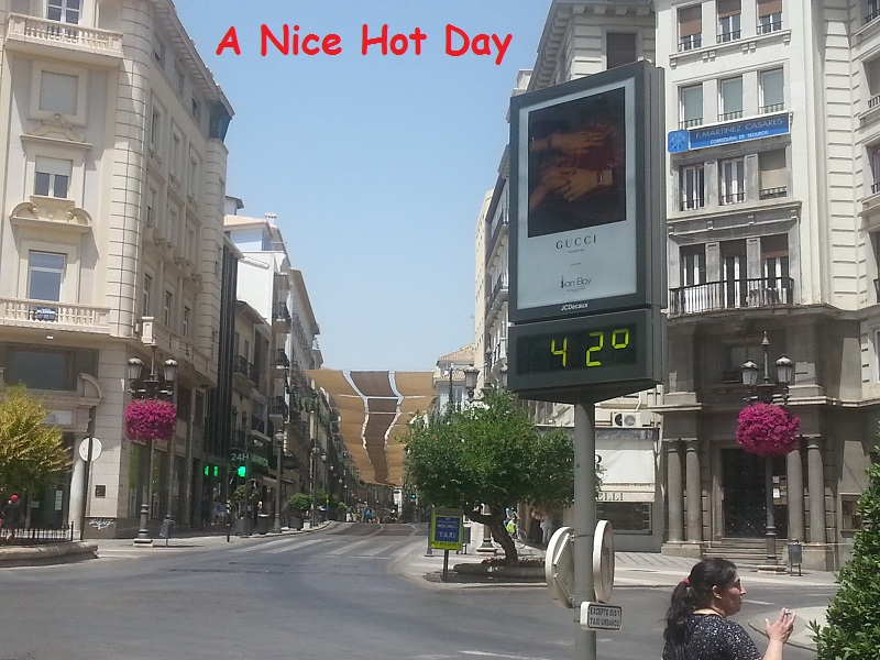 The Temperature in Granada Just Got Hotter