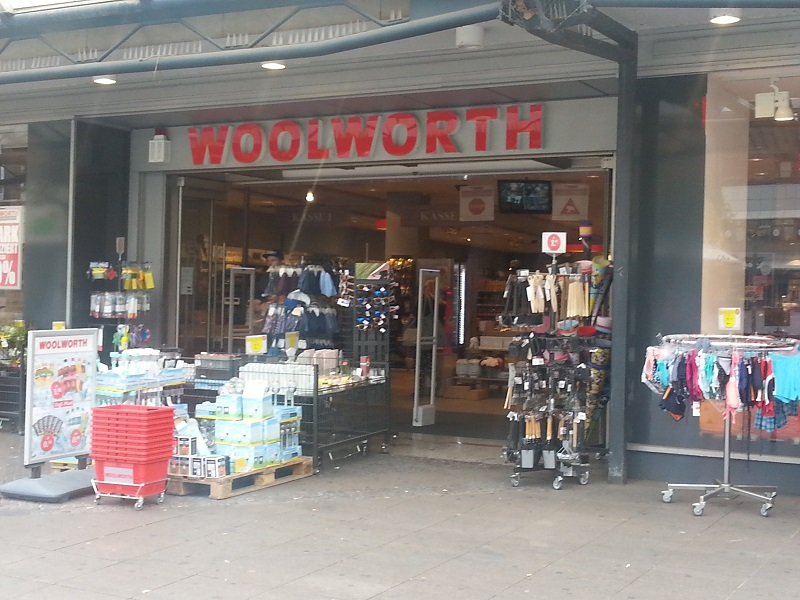 Woolworth Store in Duisburg Germany (2018)