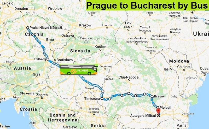 My 24-Hours of Travel: My Flixbus Journey from Prague to Bucharest