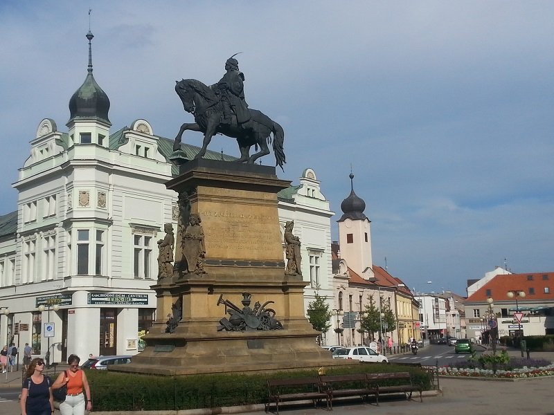The Equestrian Statue of King George of Poděbrady