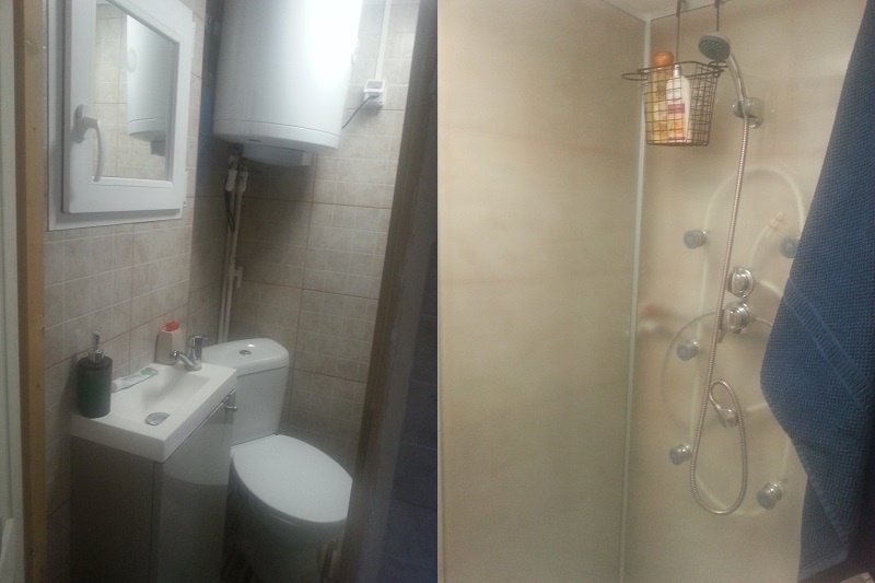 Tiny House WC and Shower (Bucharest)