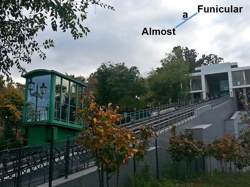 The Odessa Funicular: Still Going Strong, but a Funicular No More