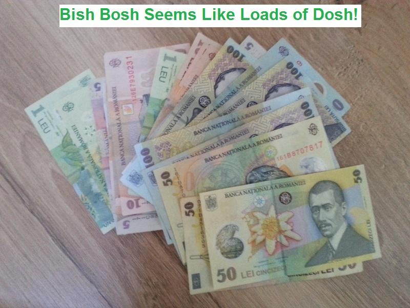 If You like Carrying Around a Big Wad of Cash, You'll Love Romanian Money