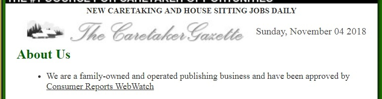 Is this statement true? Read my Caretaker Gazette review and find out