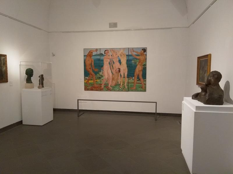 Inside the Napoli Novocento Museum