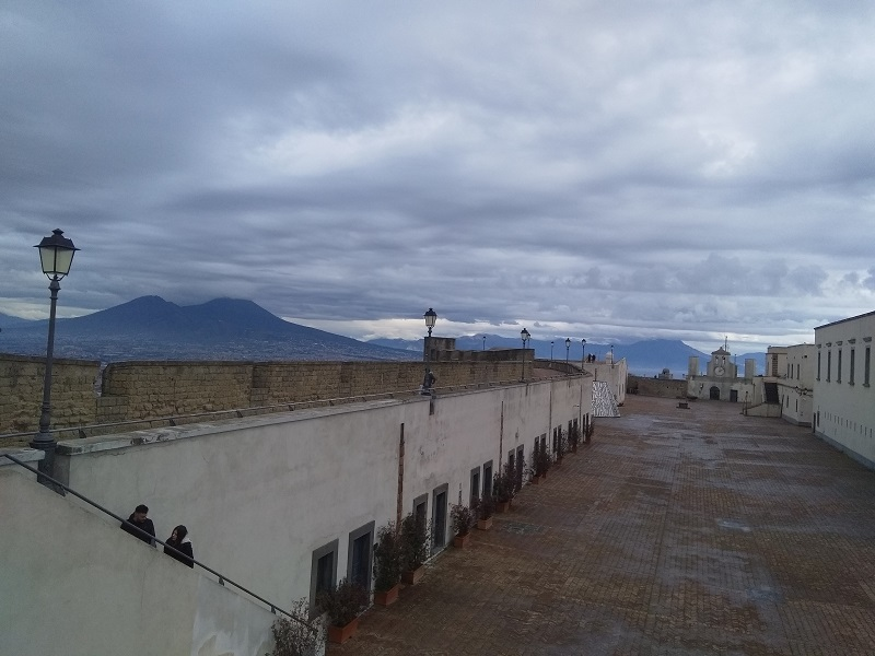 Mount Vesuvius (As Seen from Castel Sant'Elmo