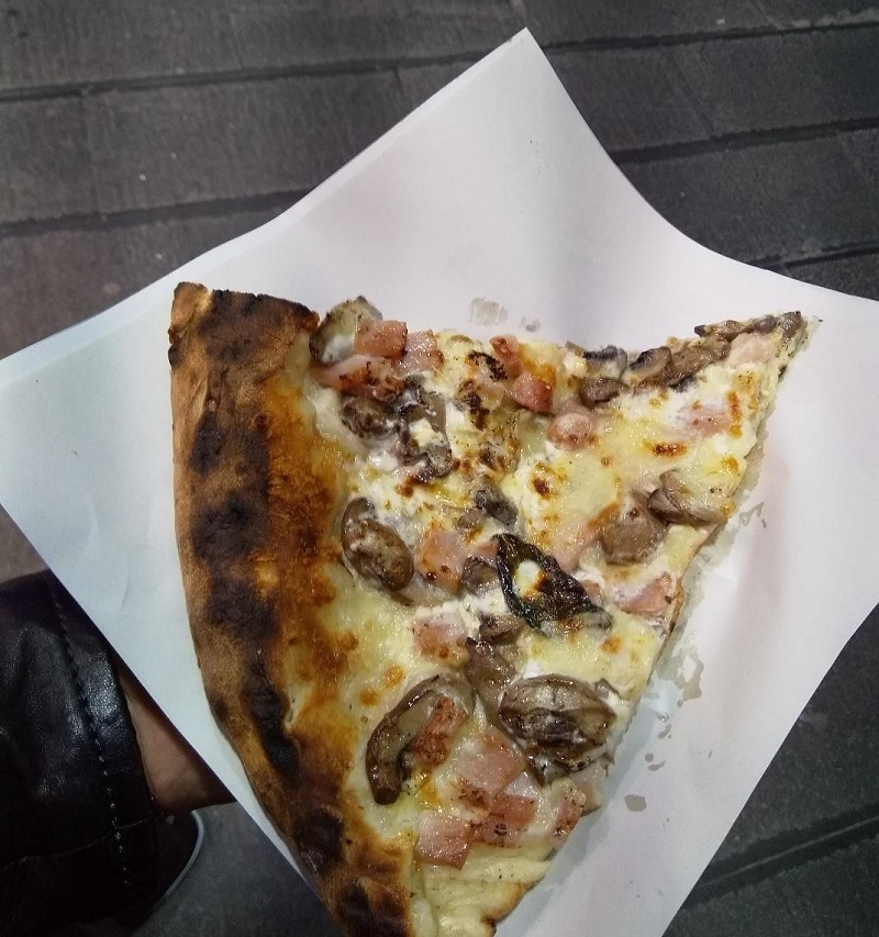 Made in Naples: The Best Pizza I've Ever Had, but Is It a Boscaiola Pizza?