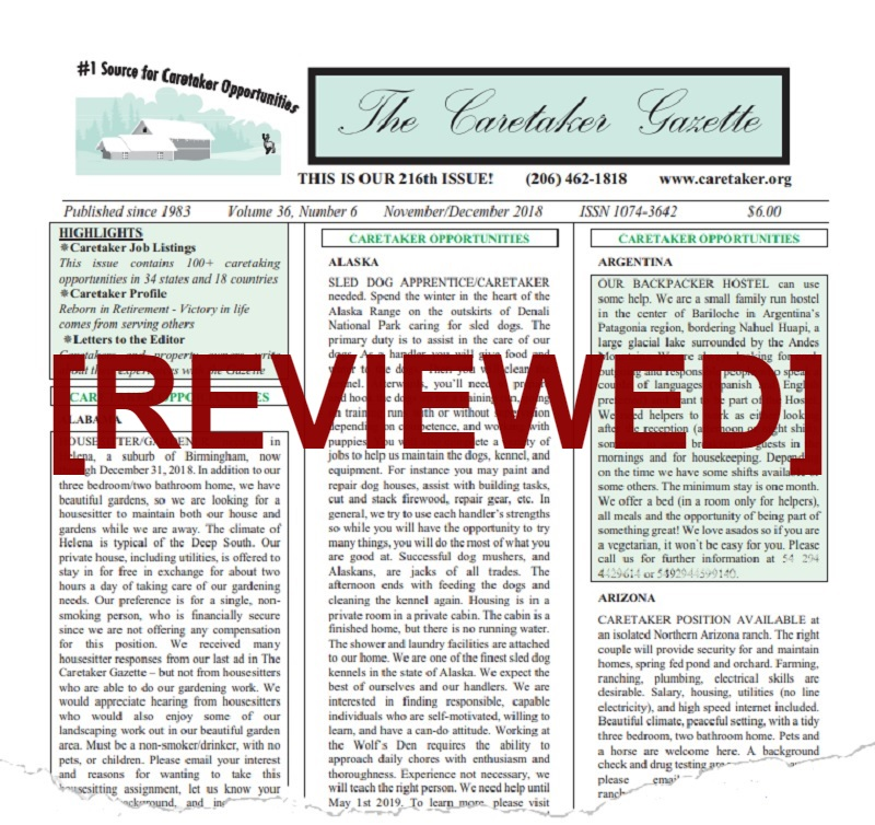 Caretaker Gazette Review: Are the Scam Allegations Warranted?