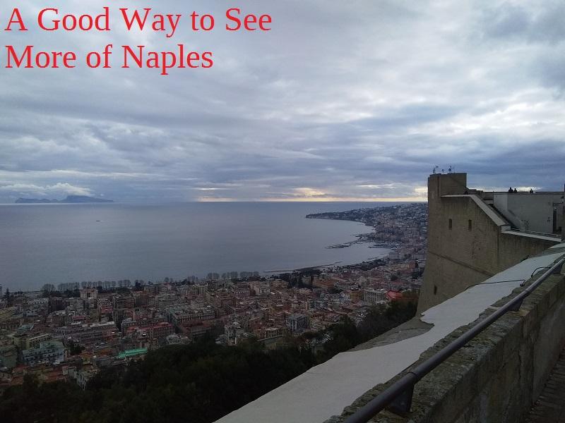 Castel Sant'Elmo Has the Best Views of Naples