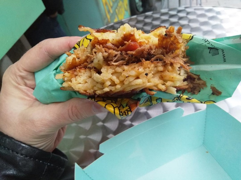 The Maccheese Chicago Bulls Sandwich: A Must-Try Food in Naples