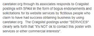 Does Caretaker.Org Spam Craigslist: Read my Caretaker Gazette Review and See What You Think