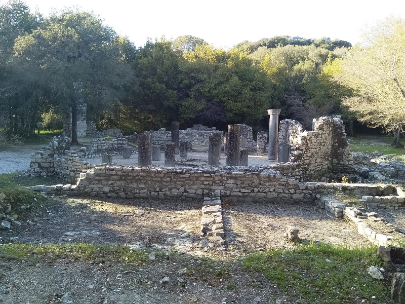 Ruins (Butrint, Albania)