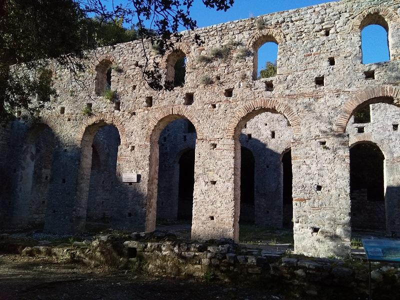 Ruins in Butrint National Park (Albania)