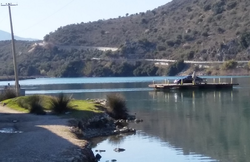 Cable Ferry (Butrint, Albania)