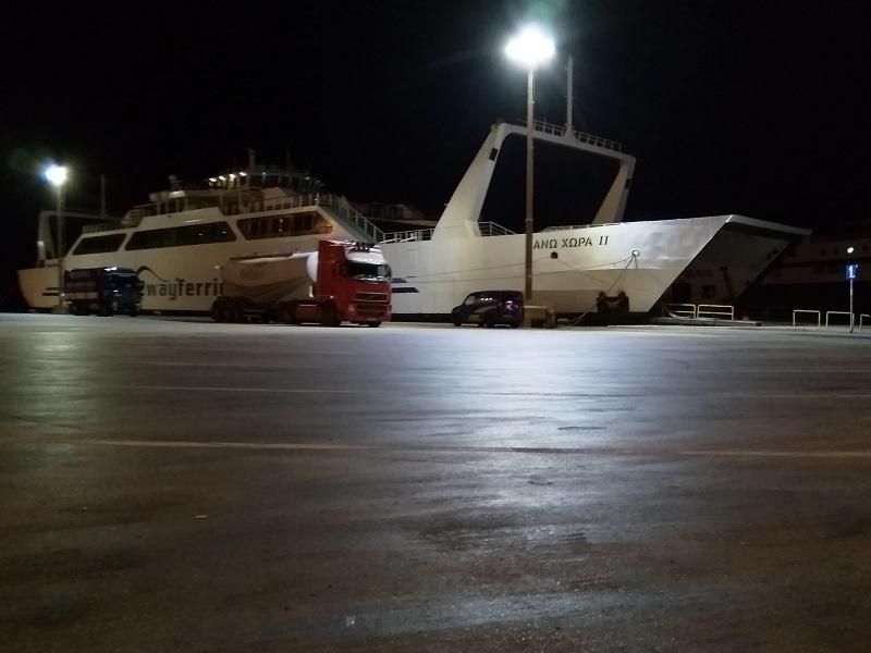 Early Morning Ferry From Igoumenitsa to Corfu