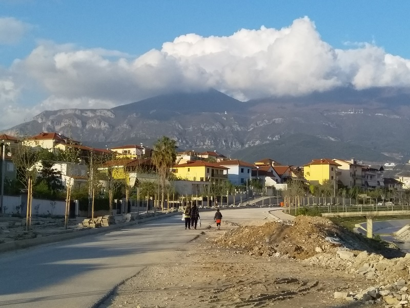 One of the Newer Parts of Tirana