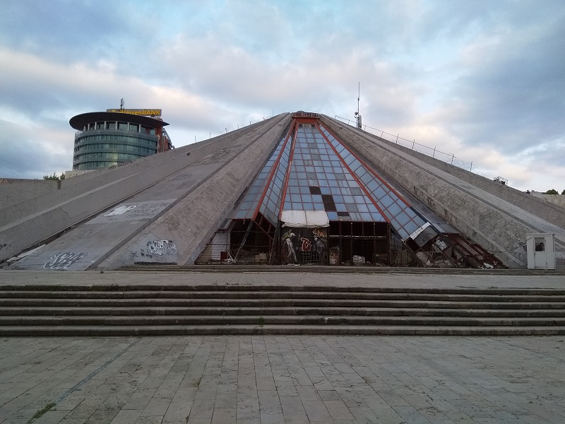 The Pyramid of Tirana: Then and Now