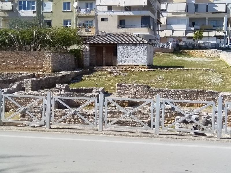 Ruins of a 5th-Century Synagogue in Saranda, Albania