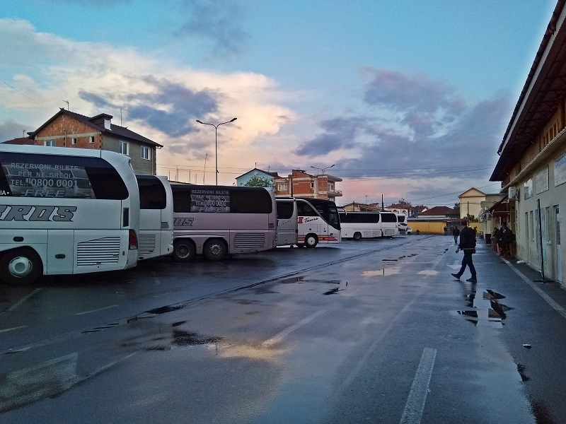 The International Bus Station in Tirana (The Best Place to Buy a Bus Ticket from Tirana to Skopje)