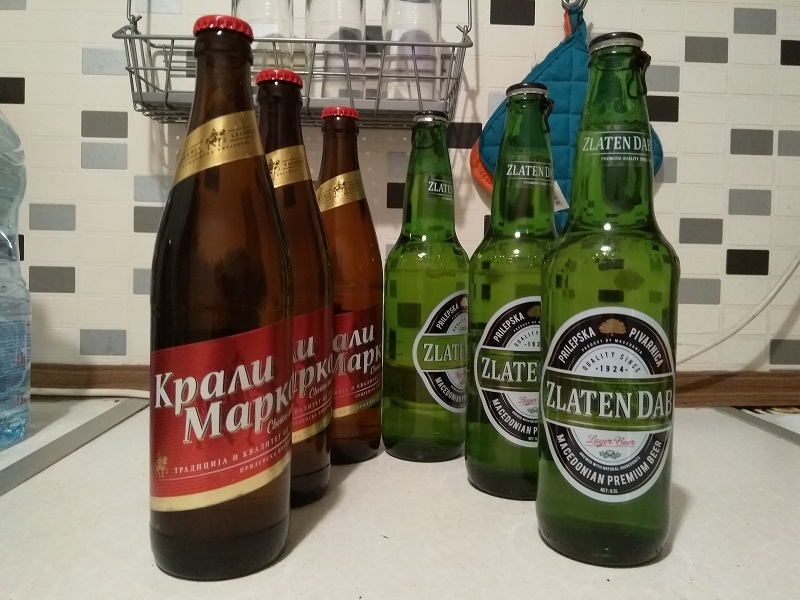 Macedonian Supermarket Beer: There's an Unusual Bottle Deposit System