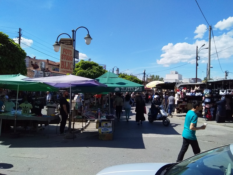 The Market at the Other Side of the Old Bazaar