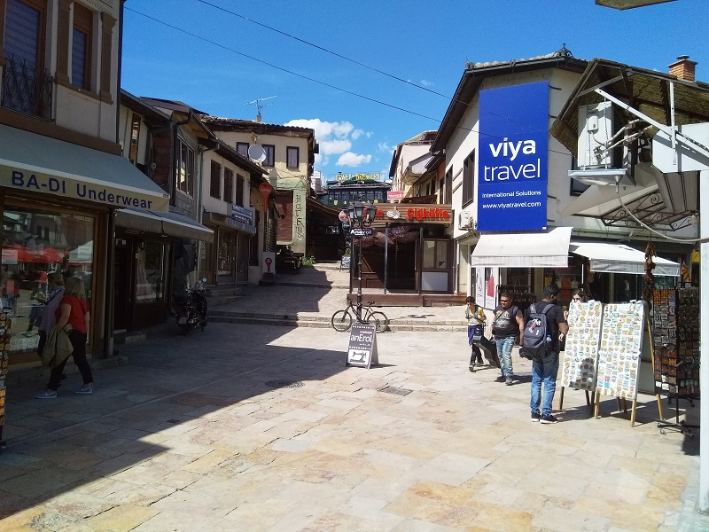 The Old Bazaar offers a different kind of Macedonian shopping experience