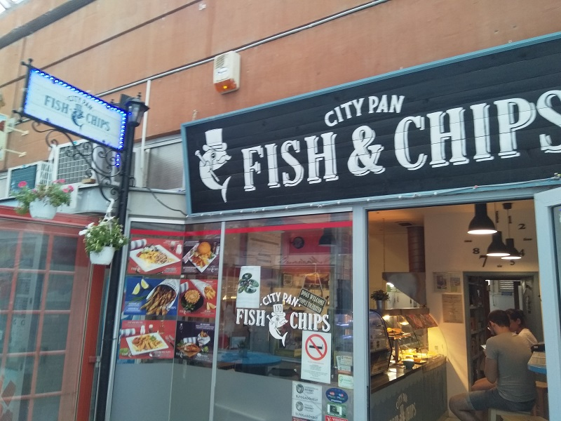 City Pan Fish & Chips (Szeged, Hungary)