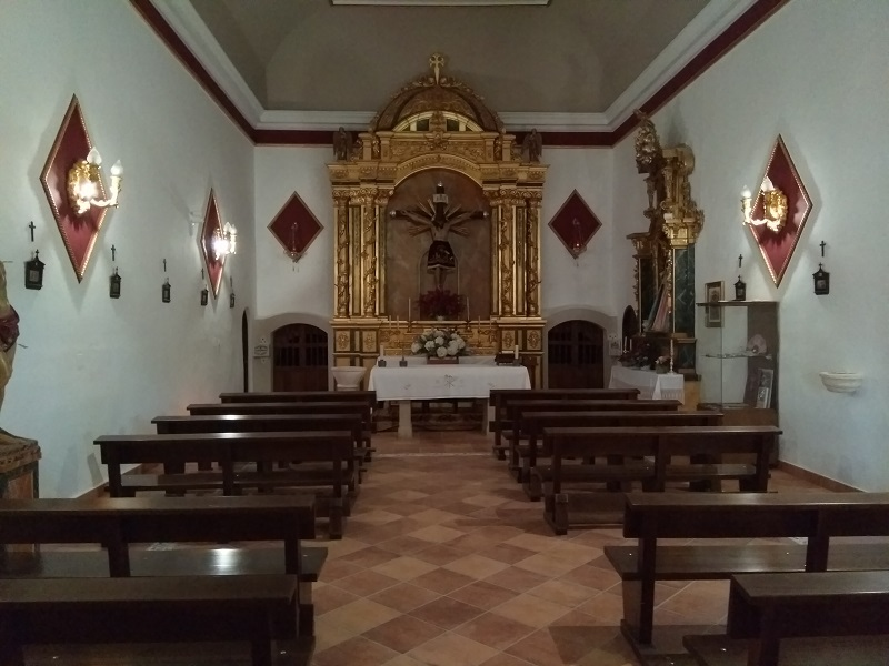 Main Chapel Area (Ermita de San Sebastián)