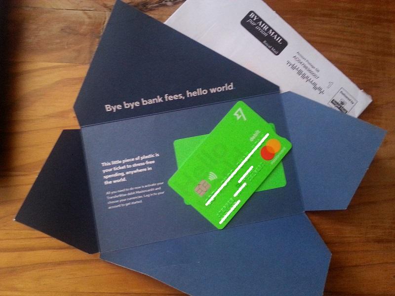 TransferWise Borderless Debit Card