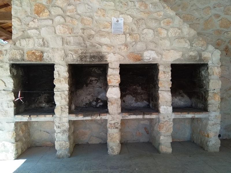 Stone Barbecue in a Spanish Lavadero