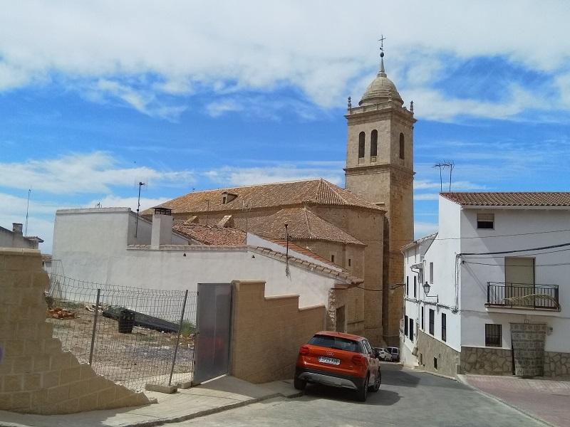Iglesia de Santa María Magdalena in Mondéjar, Spain