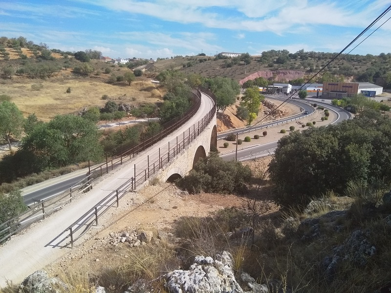 Picture of Viaduct at Mondejar, Spain