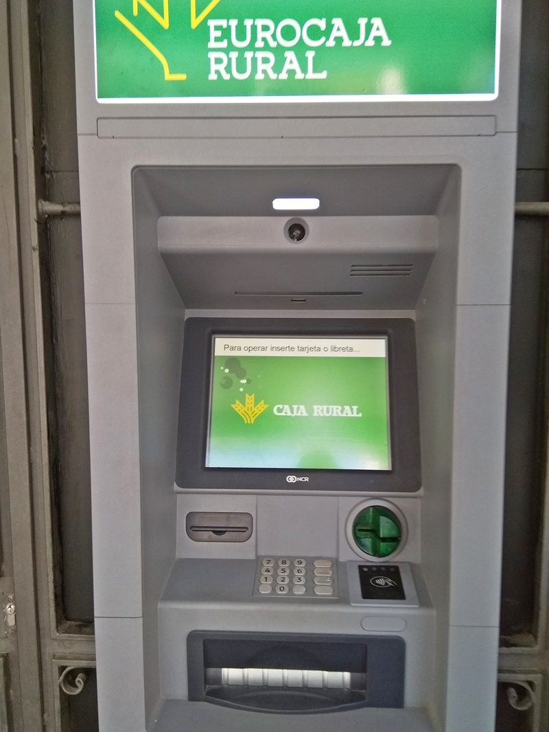 EuroCaja ATM (A good choice if you want to avoid paying ATM Fees in Spain)