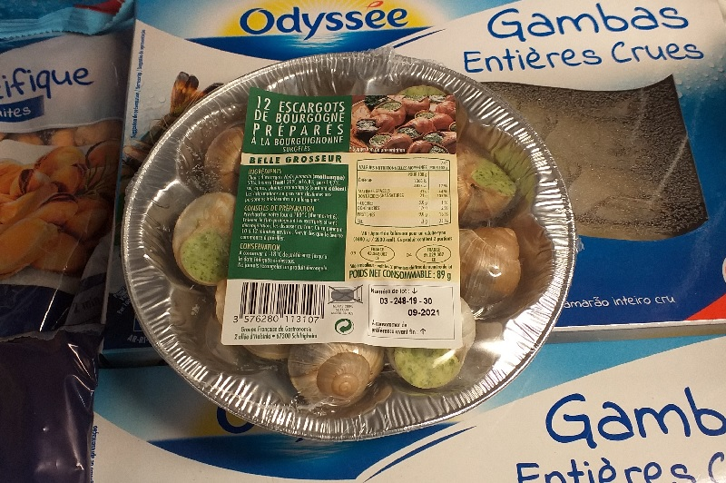 You Can Buy Snails at the Supermarket! Who Knew?