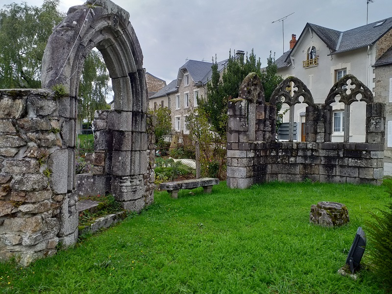 Remains from the St Projet Convent